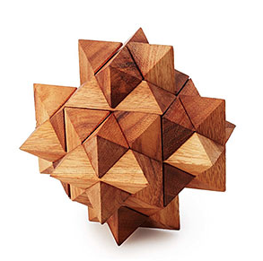 Image of Wooden Desktop Puzzle