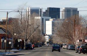 City Park West near Denver Colorado