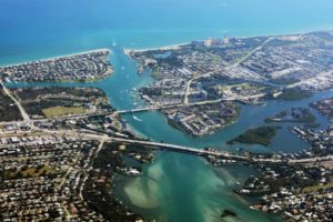 Jupiter, Florida near West Palm Beach